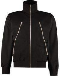 Maison Margiela Cotton Full-zip Sweatshirt - Black