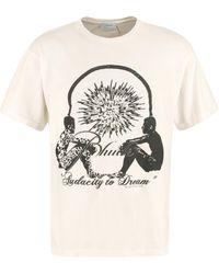 Rhude Oversize Cotton T-shirt - Multicolor
