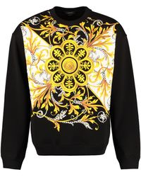 Versace - Cotton Crew-neck Sweatshirt - Lyst