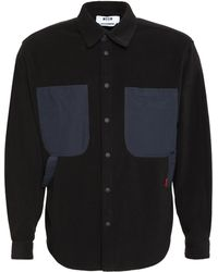 MSGM - Overshirt in pile - Lyst