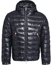 Moncler Blesle Hooded Down Jacket - Blue