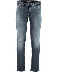 Tommy Hilfiger Jeans slim fit Scanton a 5 tasche - Blu