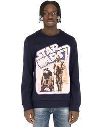 Etro Star Wars Sweatshirt Blue