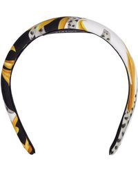 Versace Printed Headband - Multicolour