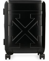 Off-White c/o Virgil Abloh Valigia trolley rigida in policarbonato - Nero
