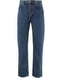 Nanushka Jeans 5 tasche Gannon - Blu