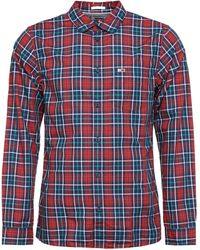 Tommy Hilfiger - Camicia a maniche lunghe in cotone - Lyst