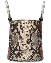 Simon Miller Bonsai 15 Leather Bucket Bag - Multicolour