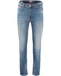 Tommy Hilfiger 5-pocket Skinny Jeans - Blue