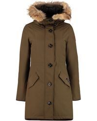 Canada Goose Rossclair Hooded Parka - Green