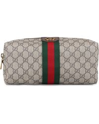 Gucci Ophidia Wash Bag - Natural