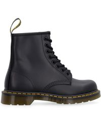 Dr. Martens 1460 Leather Combat Boots - Black