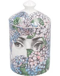 Fornasetti Ortensia Scented Candle, 300g - Multicolour