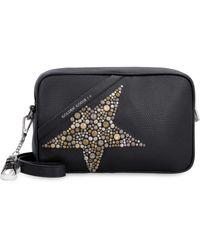 Golden Goose Deluxe Brand Star Leather Camera Bag - Black