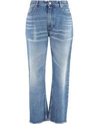 MM6 by Maison Martin Margiela Jeans 5 tasche - Blu