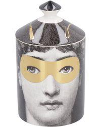 Fornasetti Candela profumata Golden Burlesque, 300g - Multicolore
