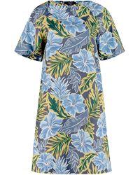 Weekend by Maxmara Cabreo Printed Dress - Blue