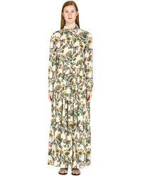LaDoubleJ Bellini Printed Maxi Dress - Multicolour