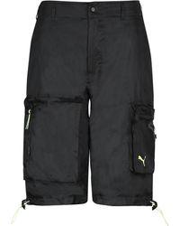 PUMA Techno Fabric Bermuda-shorts - Black
