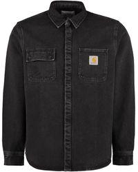 Carhartt Long Sleeve Denim Shirt - Black