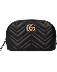 Gucci GG Marmont Key Case - Black