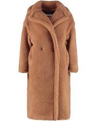 Max Mara Teddy Bear Icon Coat - Marrone