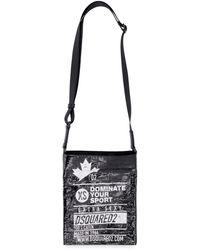 DSquared² Mini Crossbody Bag - Black
