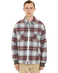 Golden Goose Deluxe Brand - Isamu Checked Overshirt - Lyst