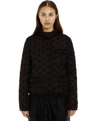 4 MONCLER SIMONE ROCHA - Hillary Floral Embroidered Down Jacket - Lyst