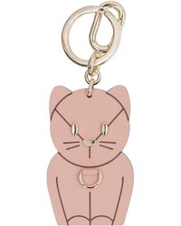 Furla Allegra Key Ring - Pink