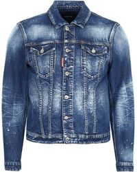 DSquared² Giacca in Denim - Blu
