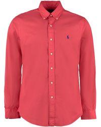 Polo Ralph Lauren Camicia button-down in cotone - Rosso