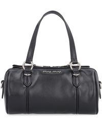 Miu Miu - Leather Handbag - Lyst