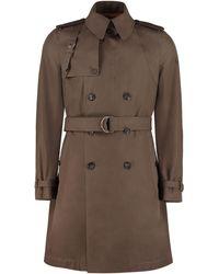 Alexander McQueen Trench coat in cotone - Multicolore
