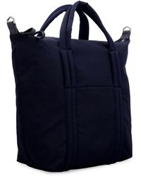 Maison Margiela Tote bag in nylon - Blu