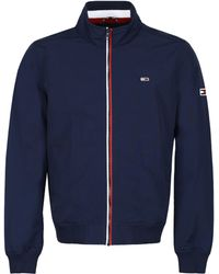 Tommy Hilfiger Techno Fabric Jacket - Blue