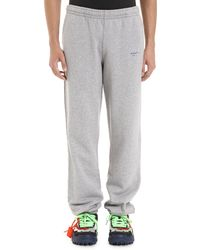 Off-White c/o Virgil Abloh Stretch Cotton Track-pants - Gray