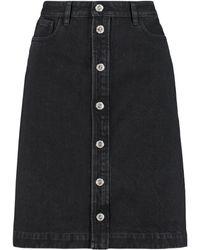 A.P.C. Therese Denim Skirt - Black