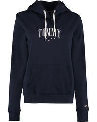 Tommy Hilfiger Cotton Hoodie - Blue