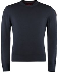 Parajumpers Crew-neck Wool Sweater - Blue
