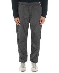 Stone Island Pantaloni sportivi in tessuto tecnico - Grigio