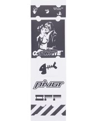 Off-White c/o Virgil Abloh Kiss 21 Stickers Set - Multicolour