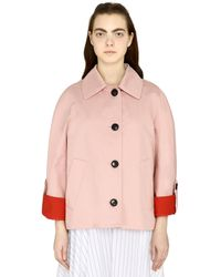 Marni Cotton-linen Blend Jacket - Pink