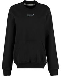 Off-White c/o Virgil Abloh Sketch Crewneck Sweatshirt - Black