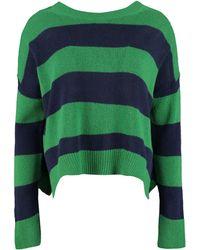 Marni Maglione girocollo in lana - Verde