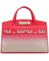 MCM Mini-bag Milano in pelle - Rosso