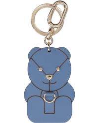 Furla Allegra Key Ring - Blue