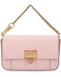 Givenchy Mini-bag Pocket in pelle trapuntata - Rosa