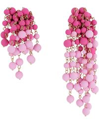 Jacquemus Les Mimosas Earrings - Pink