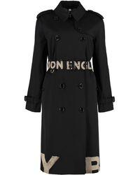 Burberry Trench coat in gabardine - Nero
